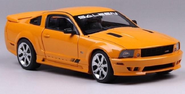โมเดลรถ โมเดลรถเหล็ก โมเดลรถยนต์ Ford Saleen S281 orange 2