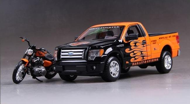 โมเดลรถ รถเหล็ก โมเดลรถเหล็ก โมเดลรถยนต์ Ford F150 STX 1
