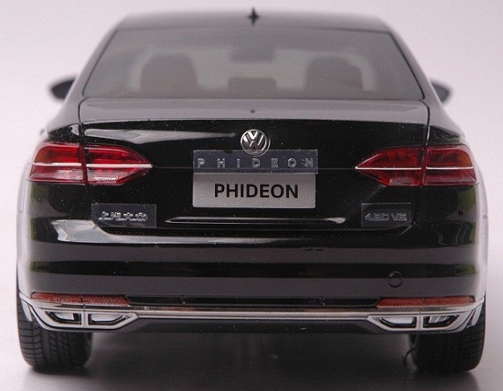 โมเดลรถ โมเดลรถเหล็ก โมเดลรถยนต์ Volkswagen PHIDEON black 5