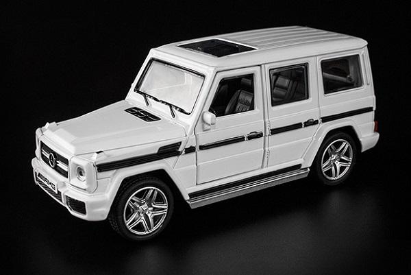 โมเดลรถเหล็ก โมเดลรถยนต์ Benz G65 4