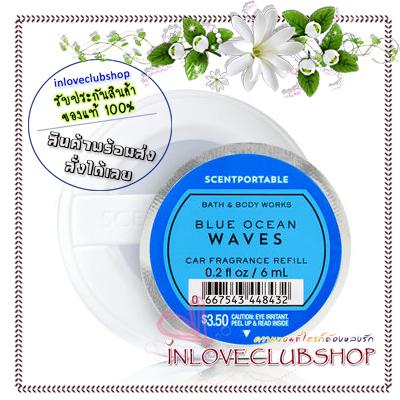 Bath & Body Works - Slatkin & Co / Scentportable Refill 6 ml. (Blue Ocean Waves)