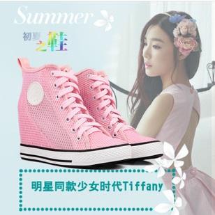 รองเท้าผ้าใบส้นสูง Tiffany snsd