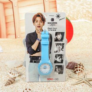 พร้อมส่ง นาฬิกา EXO Baekhyun [Blue]