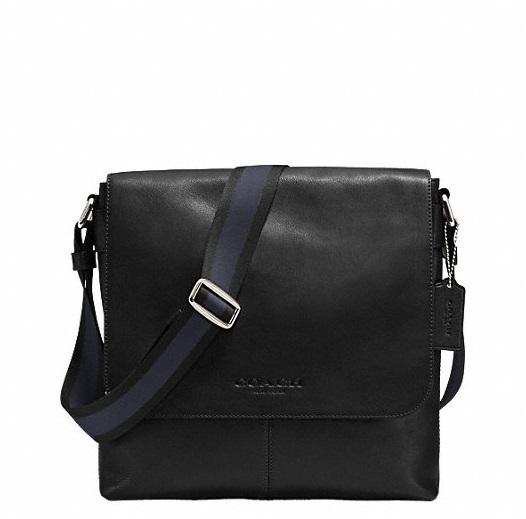 กระเป๋าผู้ชาย COACH รุ่น SULLIVAN SMALL MESSENGER IN SPORT CALF LEATHER F72362 : BLACK