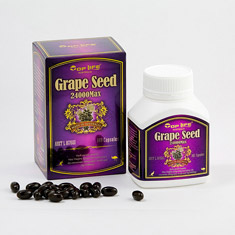 Top Life Grape Seed 24000 mg MAX 180 เม็ด