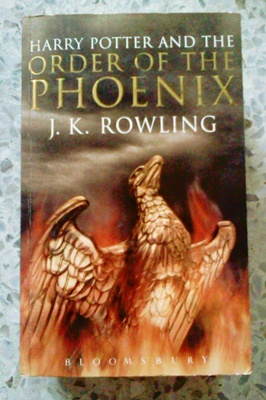 Harry Potter and the Order of the Phonix EnglishVer.