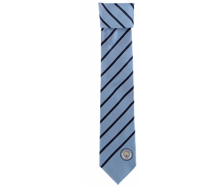 เนคไทแมนเชสเตอร์ ซิตี้ Polyester Stripe Tie ของแท้