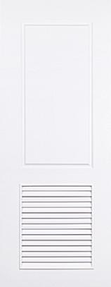 ประตู upvc รุ่นบานเกล็ด pl-004 ขนาด 90x200