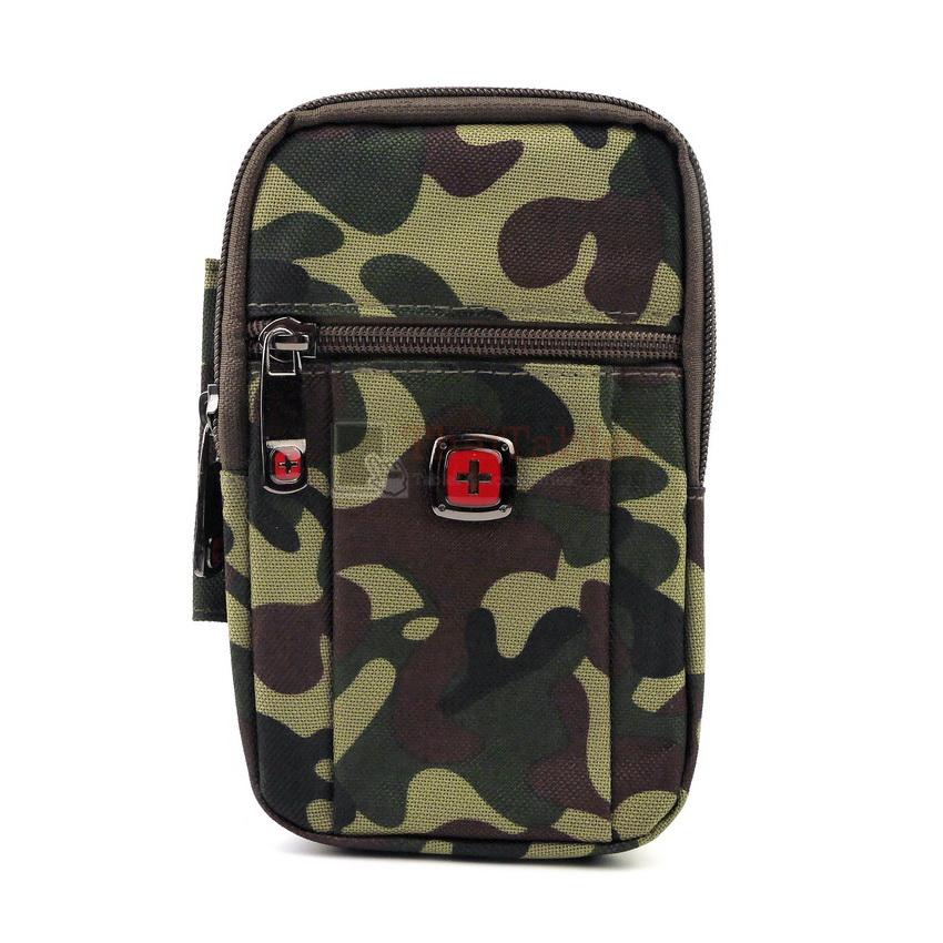 - กระเป๋าหนังคาดเอว ใส่มือถือขนาด 5 - 6 นิ้ว