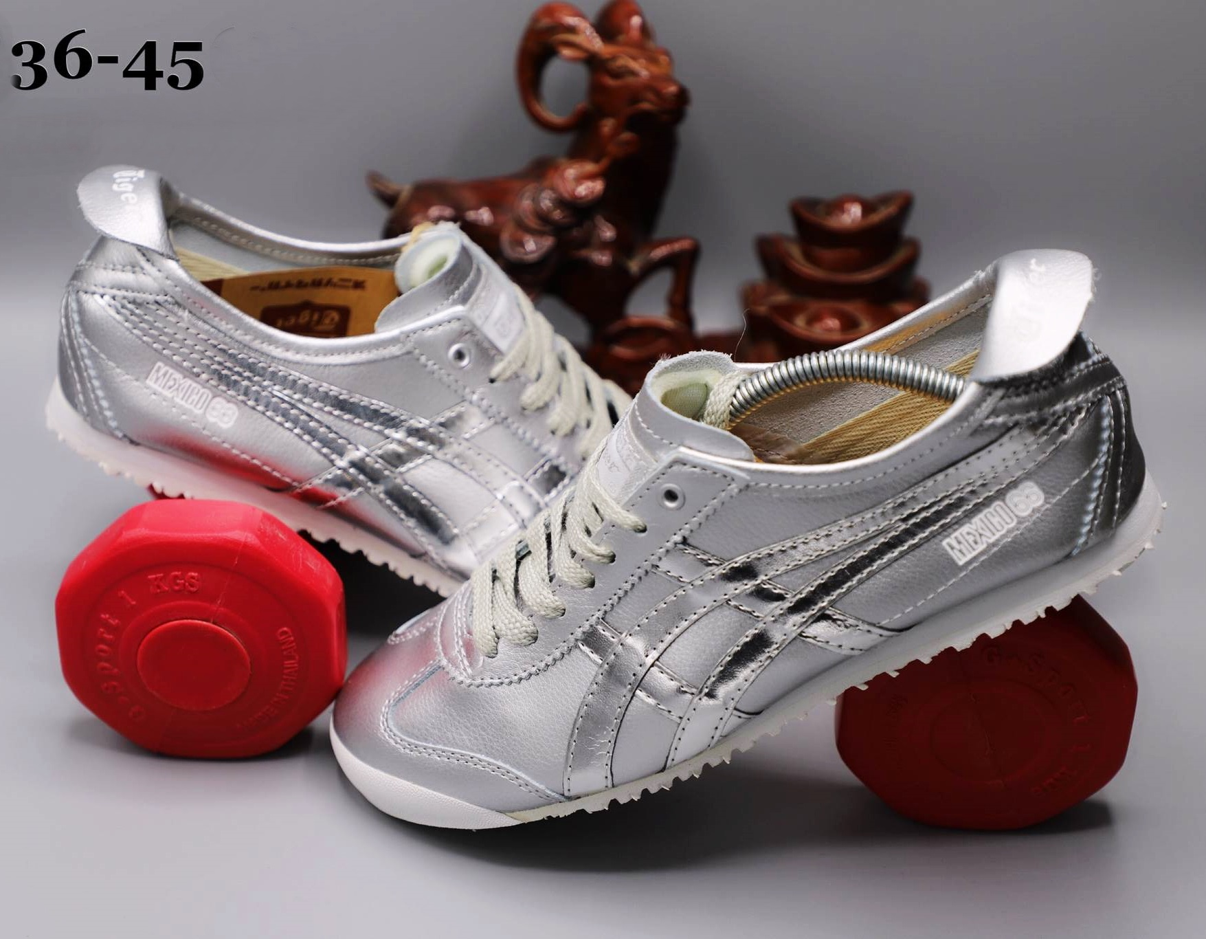 best sneakers 2cf75 a73f3 รองเท้า Onitsuka Tiger รุ่น Mexico66 เกรด3A หนังแท้ size 36-45