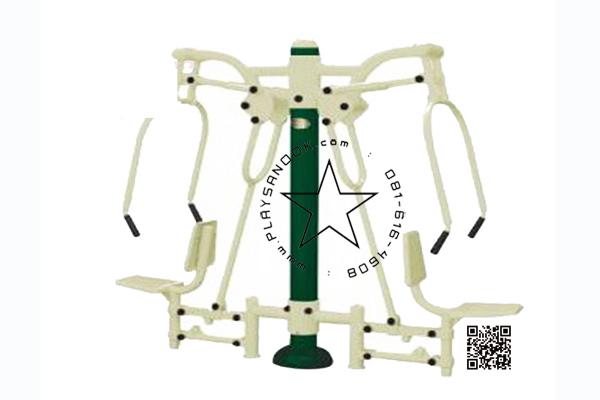 2SPF-2002 อุปกรณ์ผลักบริหารกล้ามแขนคู่
