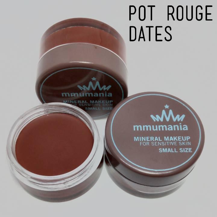 Limited หมดแล้วหมดเลย MMUMANIA Pot Rouge : สี Dates ลิปสติกเนื้อแมท สีน้ำตาลเข้ม
