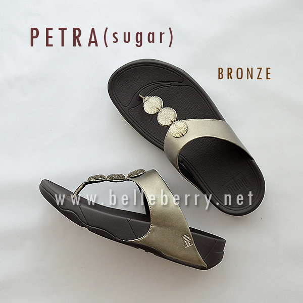 ** NEW ** FitFlop : PETRA (Sugar) : Bronze : Size US 7 / EU 38