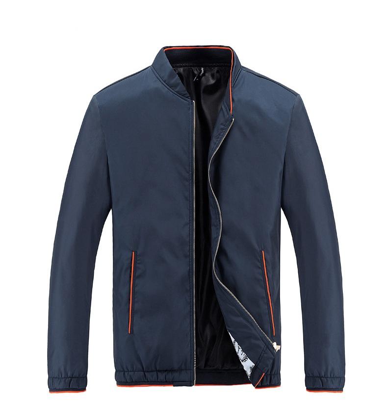 fashion เสื้อแจ็คเก็ตผู้ชาย สไตล์เกาหลี สีกรมท่า (รอสินค้า15-20วัน)