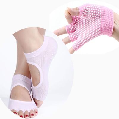 (พรีออเดอร์) ถุงมือ ถุงเท้าโยคะ กันลื่น YKSM30-46