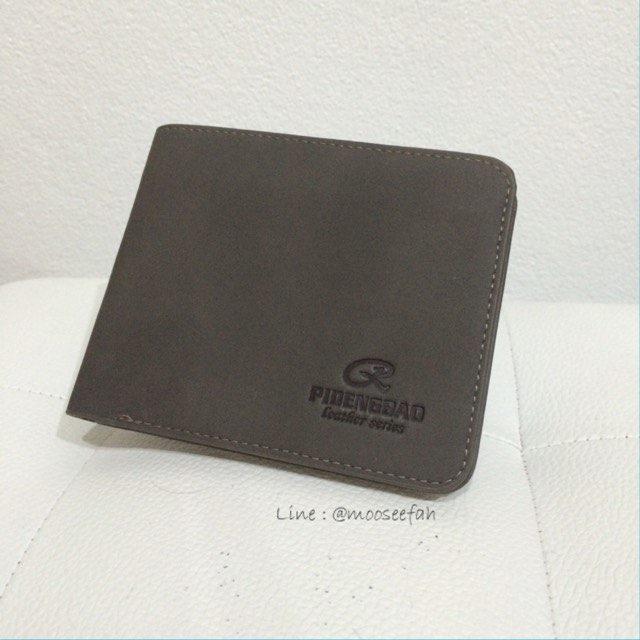 กระเป๋าสตางค์ผู้ชาย PD003 [สีเทา]