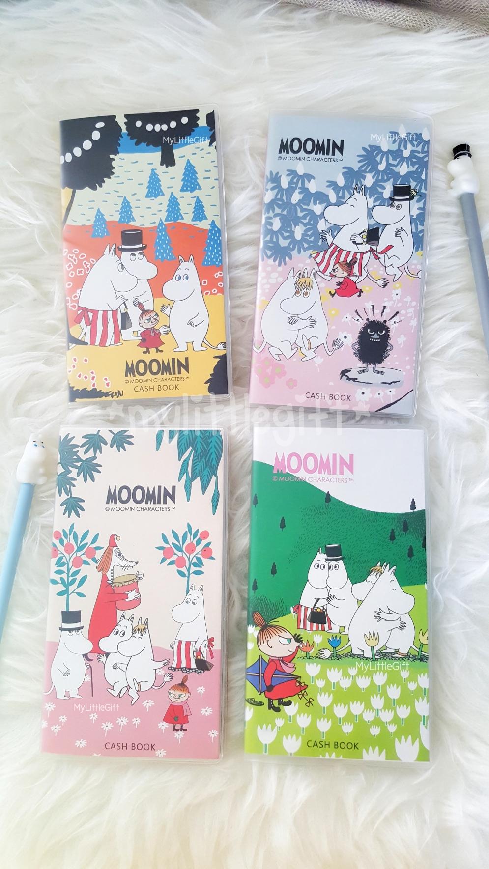(มี 4 ลายให้เลือก) Moomin Cash Book