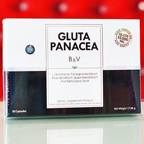 กลูต้าพานาเซีย บายแป้ง 30 แคปซูล GLUTA PANACEA BY PANG