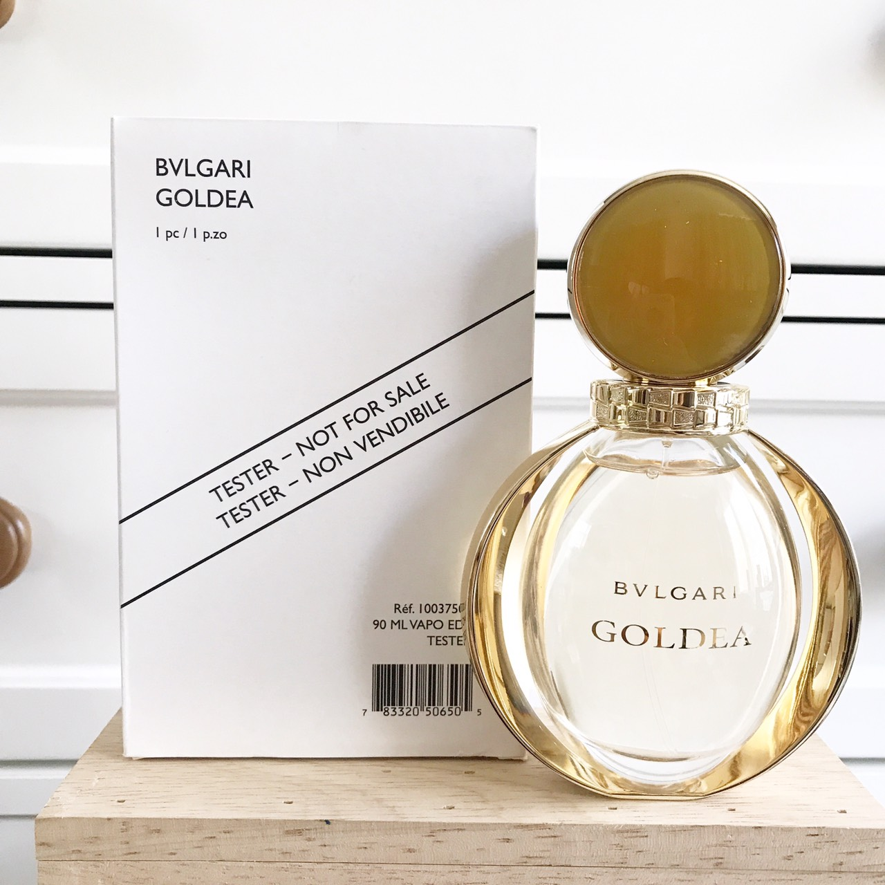 น้ำหอม (กล่องเทสเตอร์) Bvlgari Goldea EDP 90ml. ของแท้ 100%