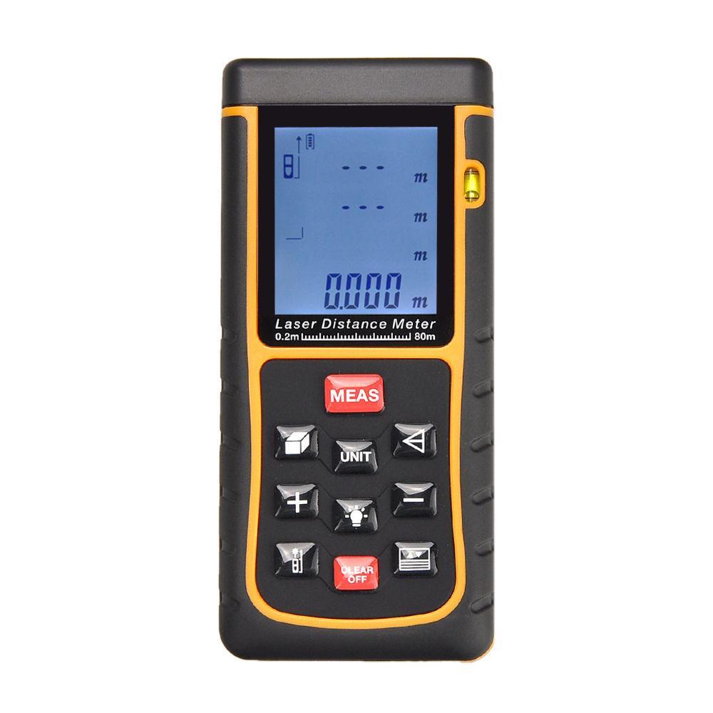 เครื่องวัดระยะแบบเลเซอร์(Laser Distance Meter) ระยะ 0-80 m. รุ่น RZ-E80 ล้างสต๊อก