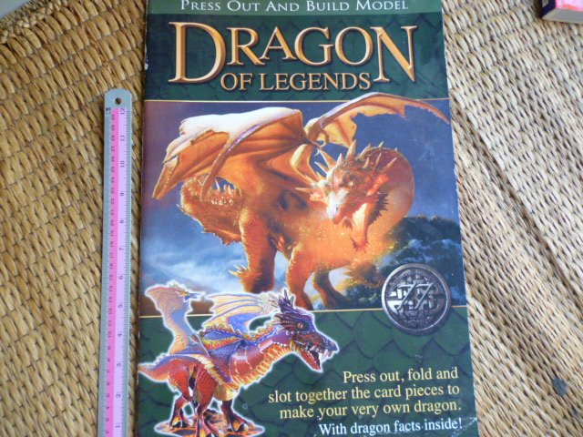 DRAGON of LEGENDS (Press Out and Build Model)