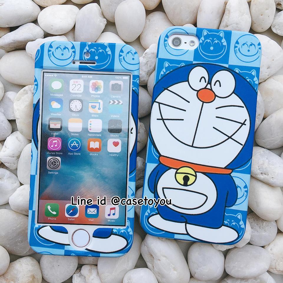 เคสประกบหน้า-หลัง Doraemon 01 iPhone 5/5S และ SE