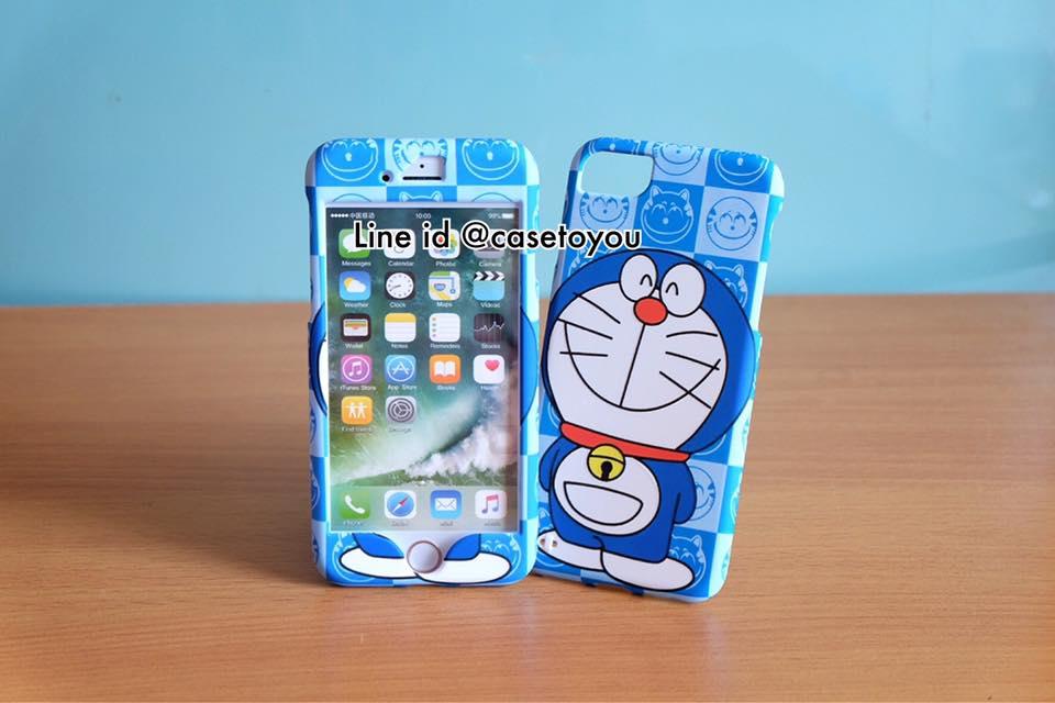 เคสประกบหน้า-หลัง Doraemon 01 สำหรับ iPhone 7