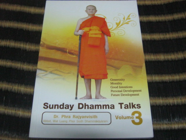 Sunday Dhamma Talks Volume 3