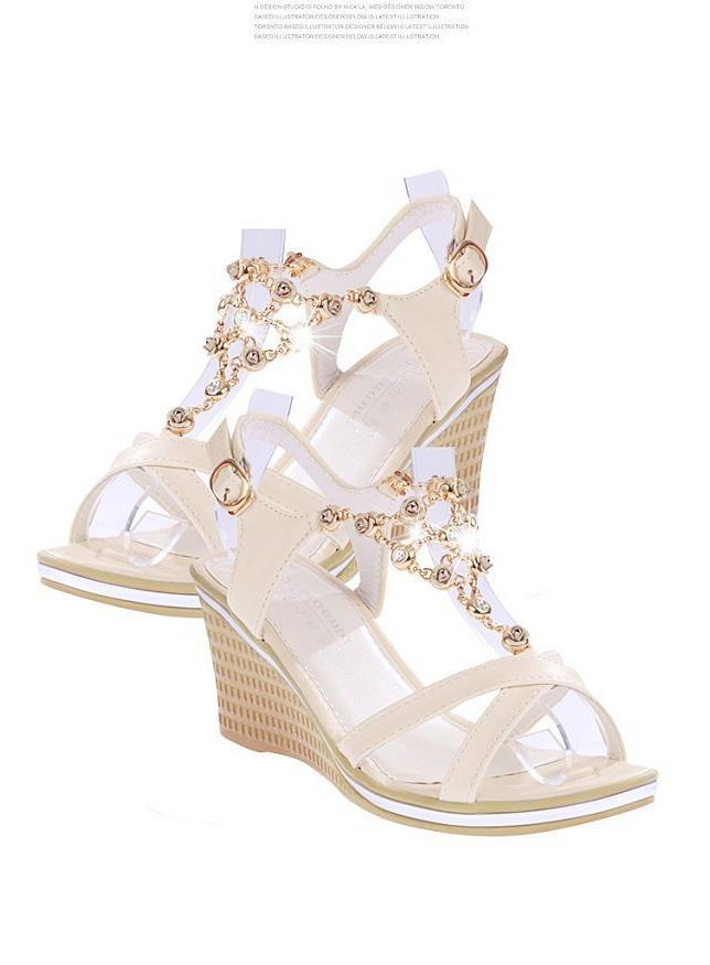 Ladyshoes รองเท้าแฟชั่นผู้หญิง รุ่น LSW - 008 สีขาว