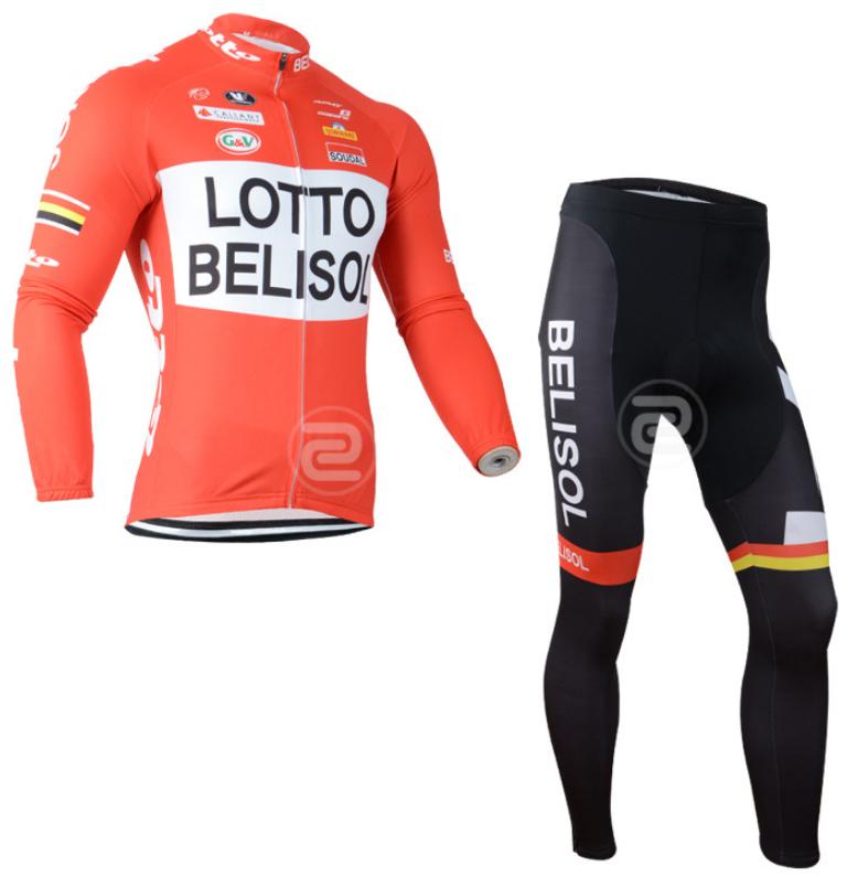 ชุดปั่นจักรยาน แขนยาว Lotto เสื้อปั่นจักรยาน และ กางเกงปั่นจักรยาน
