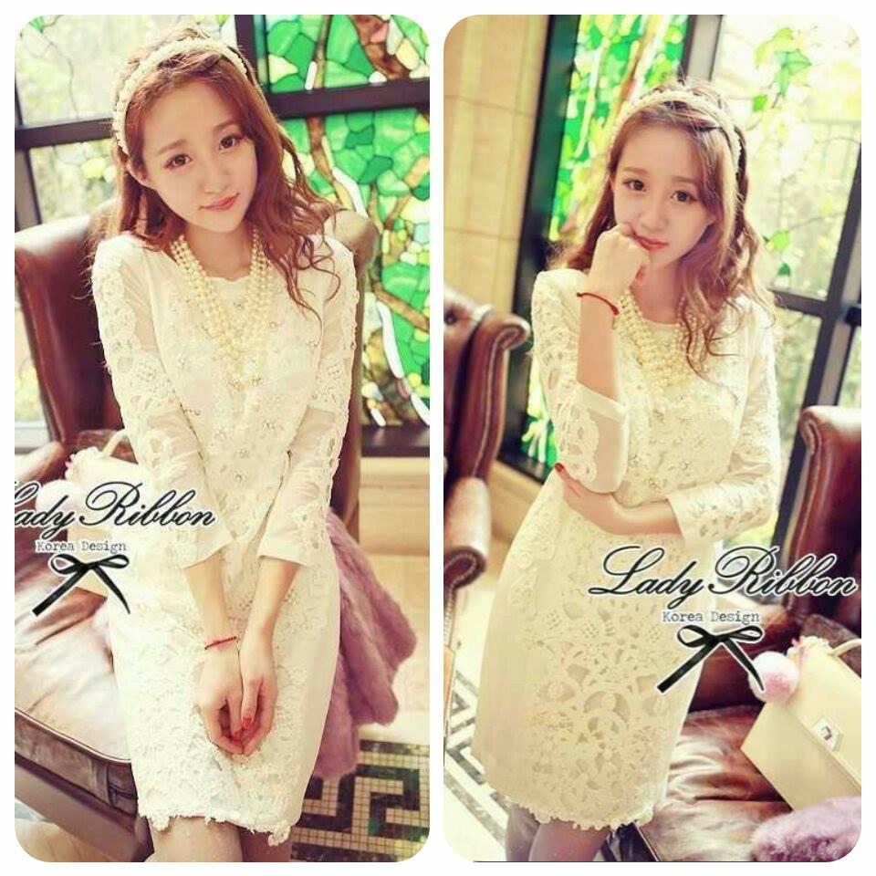 Lady Coco Classy Lace Elegant Dress