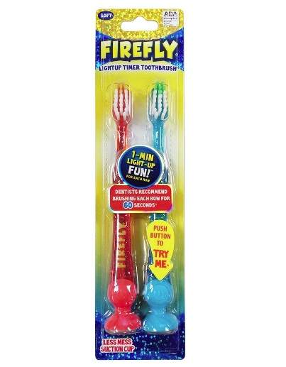 Firefly Timer Toothbrush (pack of 2)