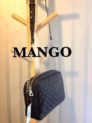 MANGO : Studded Quilted Bag