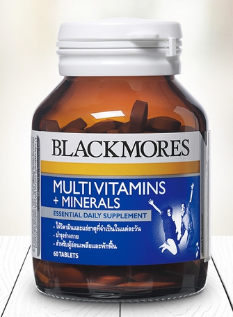Blackmores Multi Vitamins+Minerals 60 เม็ด