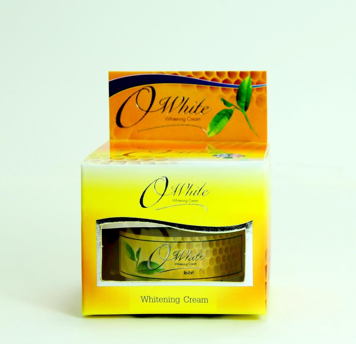 OWhite Whitening Cream 1@120 ครีมโอไวท์ ไวท์เทนนิ่ง กล่องเหลือง