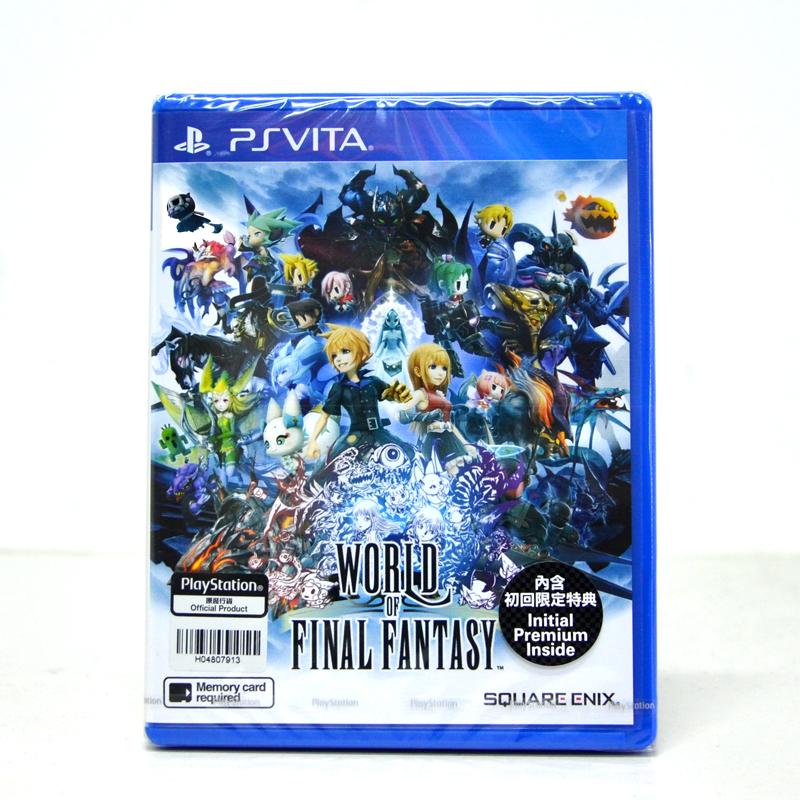 PS Vita™ World of Final Fantasy Zone 3 Asia / English