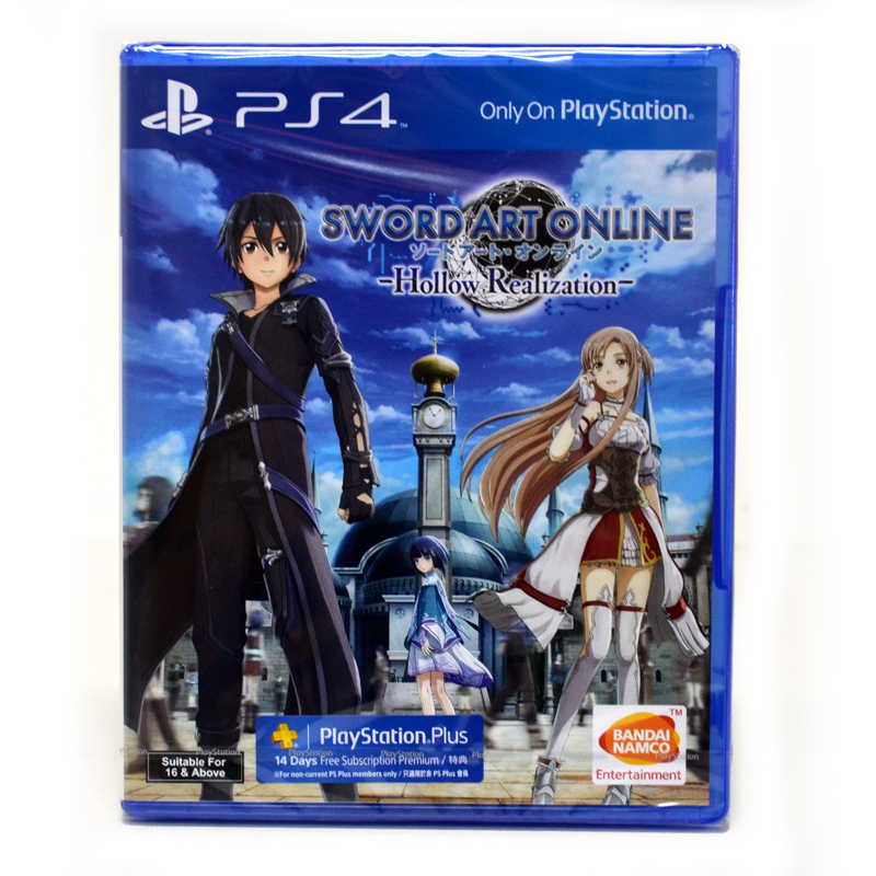 PS4™ Sword Art Online: Hollow Realization Zone 3 Asia / English