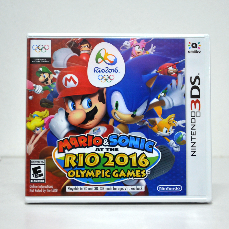 3DS™ Mario & Sonic At The 【Rio 2016】 Olympic Games Zone US / English Version