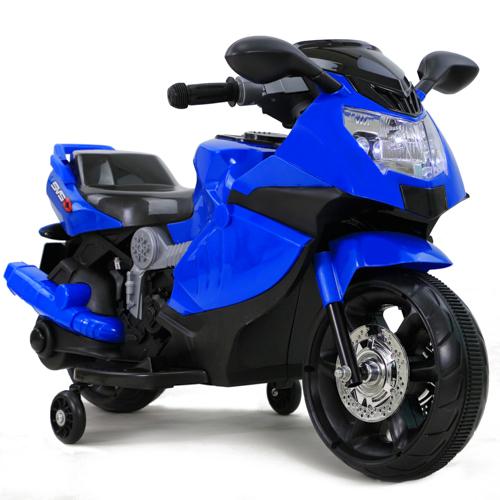 รถมอเตอร์ไซค์ (รถแบต) BMW สีน้ำเงิน
