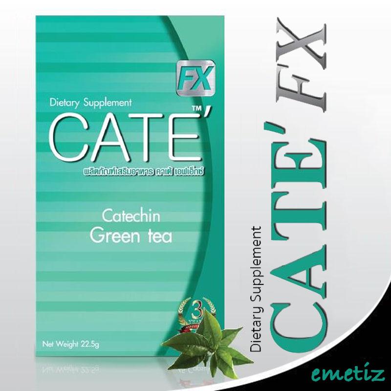 ผลิตภัณฑ์ลดน้ำหนัก Cate, คาเต้