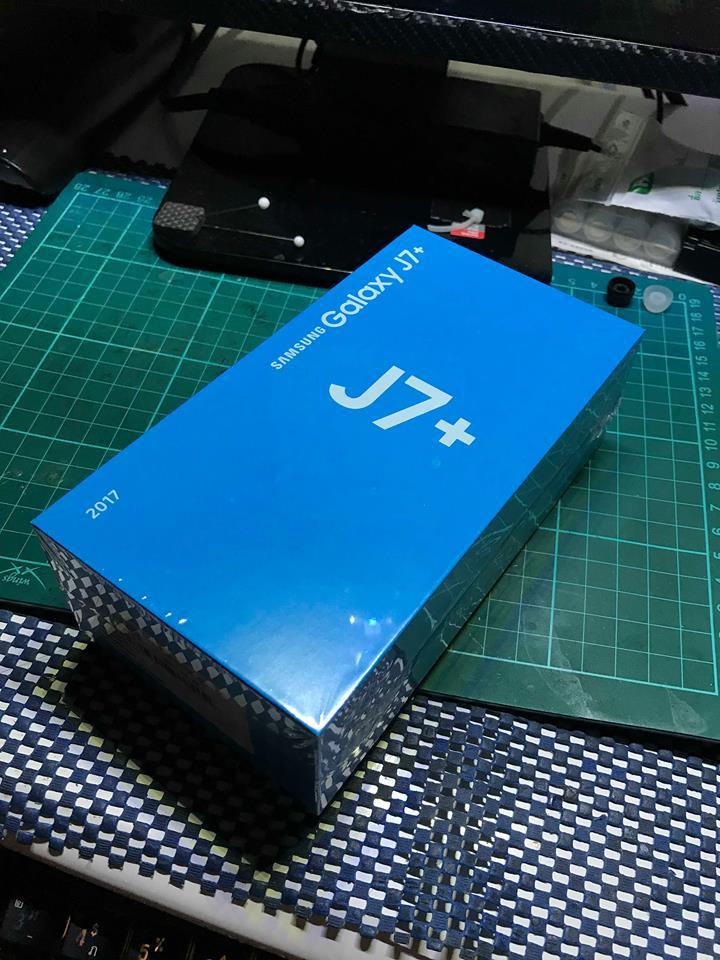 (มือสอง) Galaxy J7+ สภาพ 100 สวยโครตเอาไปใช้ได้เลย