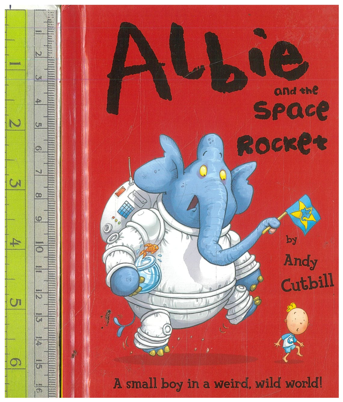 Albie and Space Rocker