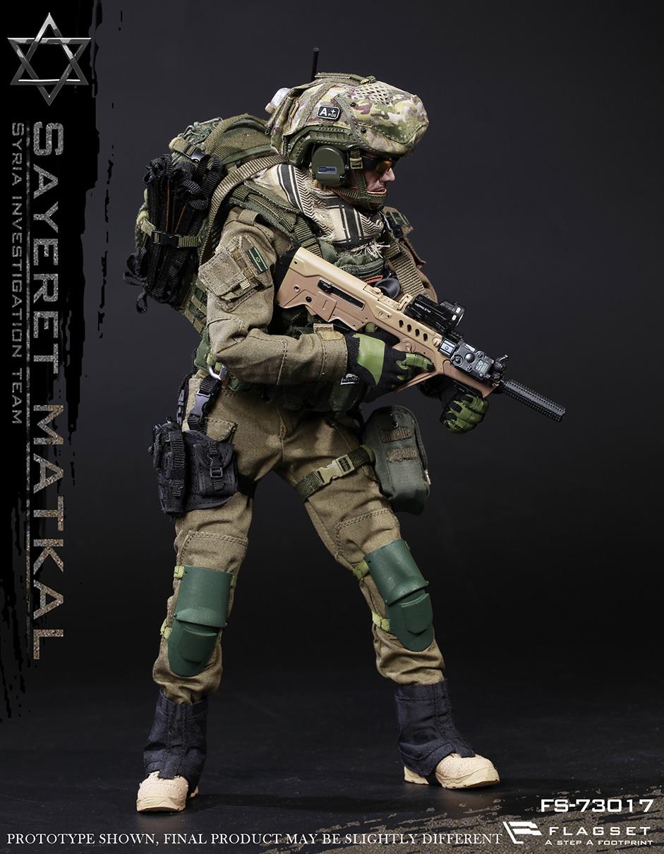 22/07/2018 FLAGSET FS-73017 Syria Investigation Team - Sayeret Matkal