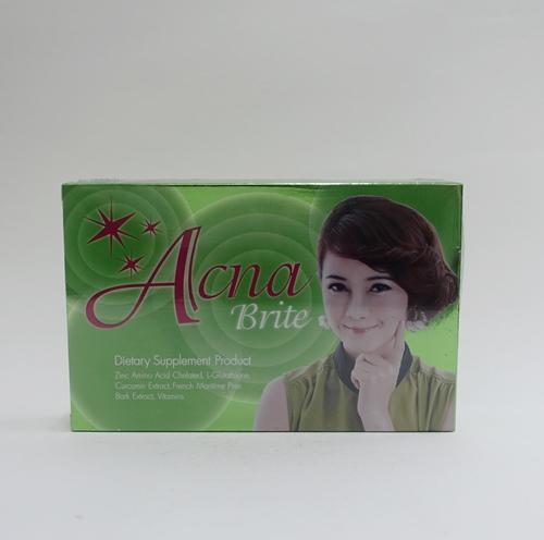 acna brite 30 เม็ด อาหารเสริมลดสิว หน้าใส