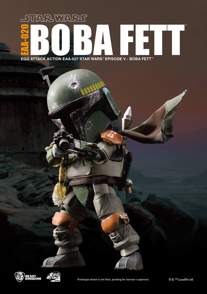 Beast Kingdom EAA-020 Star War: Episode V - Boba Fett