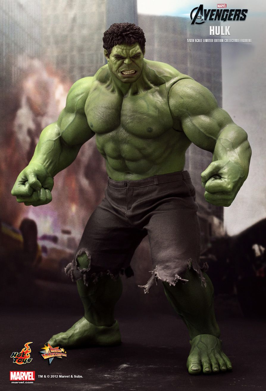 Hot Toys MMS186 THE AVENGERS - HULK