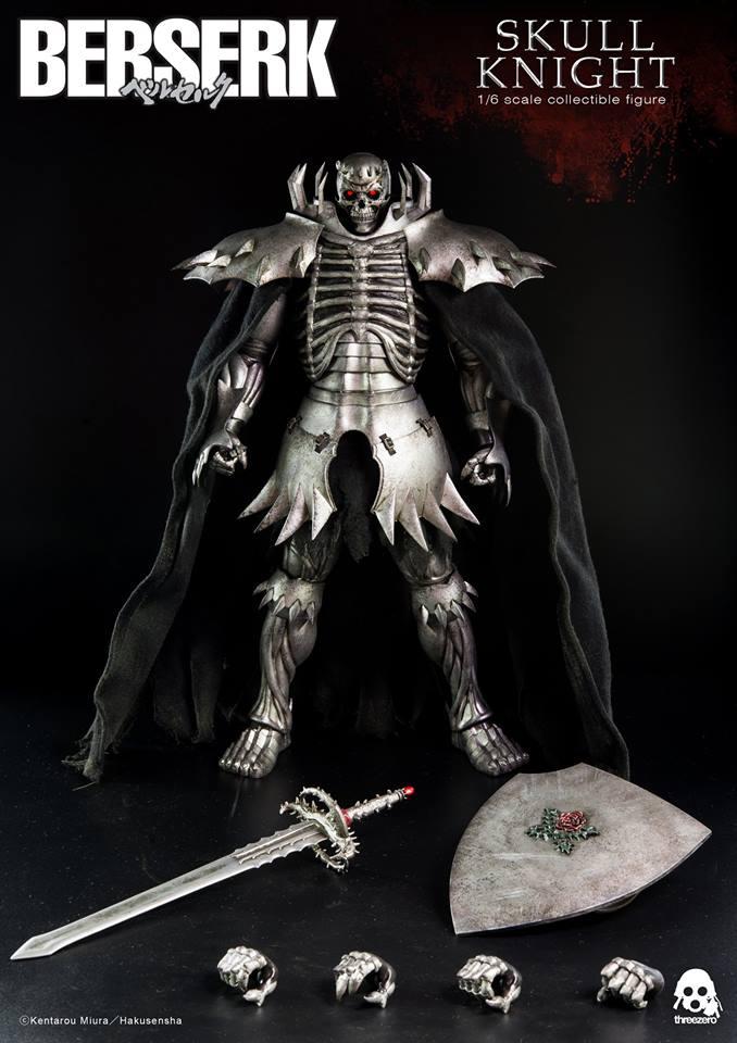 ThreeZero 1/6 Berserk - Skull Knight (Normal Version)