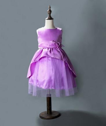 Pre-order ชุดราตรี / Size 100 / Purple