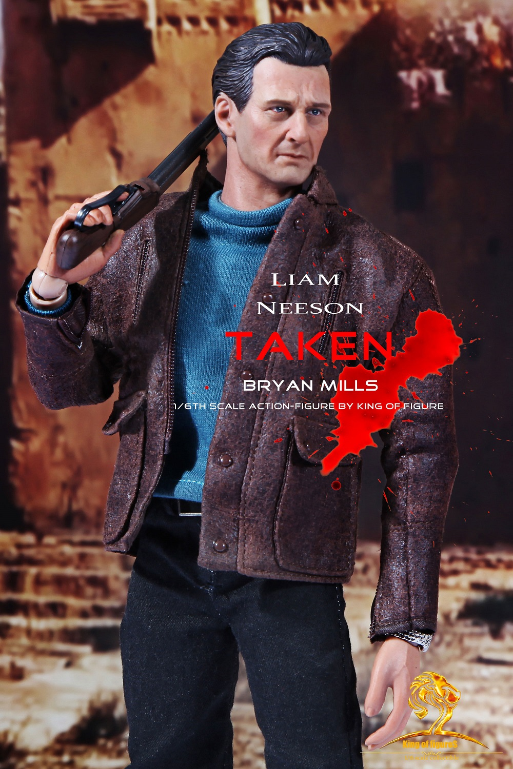 King of Figures KS001 1/6 Liam Neeson Taken Bryan Mills