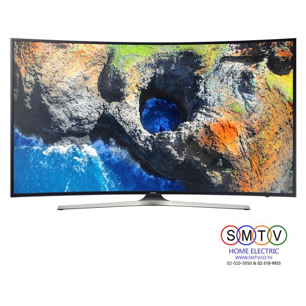 SAMSUNG 4K Ultra HD Smart LED Curved TV ขนาด 65 นิ้ว รุ่น UA65MU6300KXXT